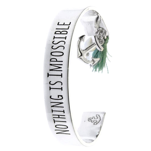 Nothing Is Impossible Bracelet - Jewelry Buzz Box  - 1