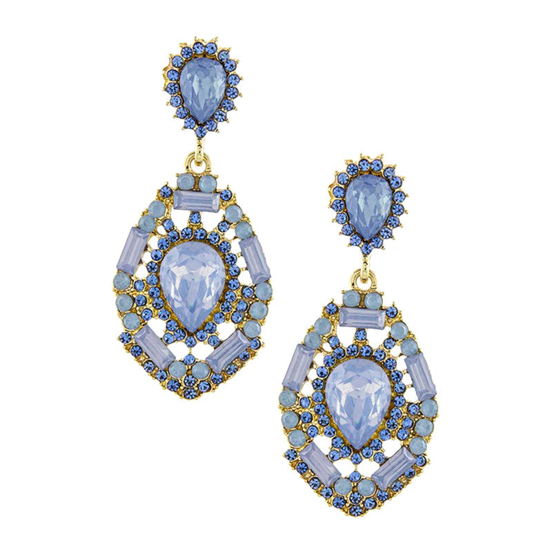 Luxury Drop Earrings - Jewelry Buzz Box  - 1