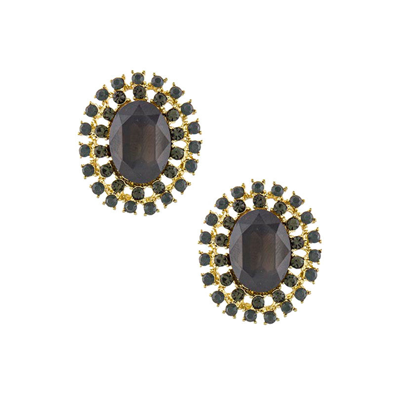 Dazzling Crystal Stud Earrings - Jewelry Buzz Box  - 3