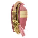 Groovy Peace Tassel Bracelet - Jewelry Buzz Box  - 3