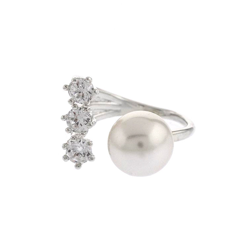 Glitz Pearl Ring - Jewelry Buzz Box  - 2