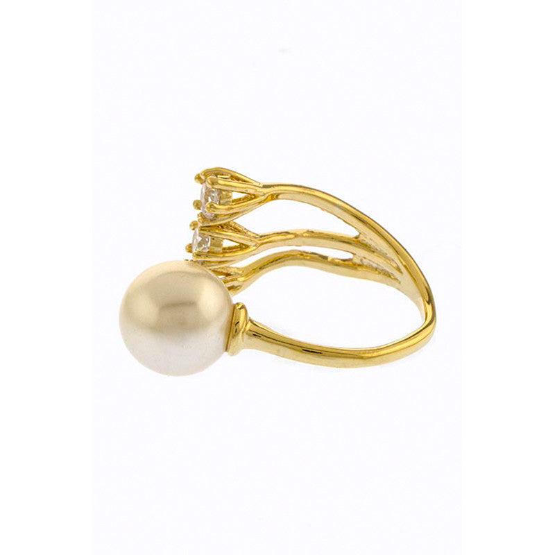 Glitz Pearl Ring - Jewelry Buzz Box  - 3