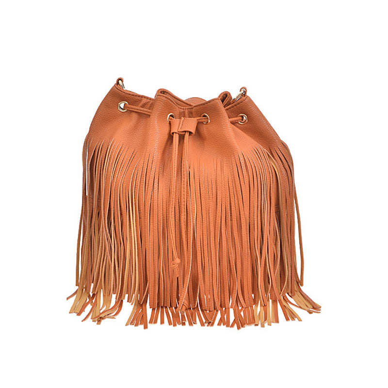 Smooth Fringe Backpack - Jewelry Buzz Box