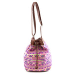 Neon Tribal Bucket Bag - Jewelry Buzz Box  - 1