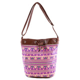 Neon Tribal Bucket Bag - Jewelry Buzz Box  - 5