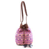 Neon Tribal Bucket Bag - Jewelry Buzz Box  - 3