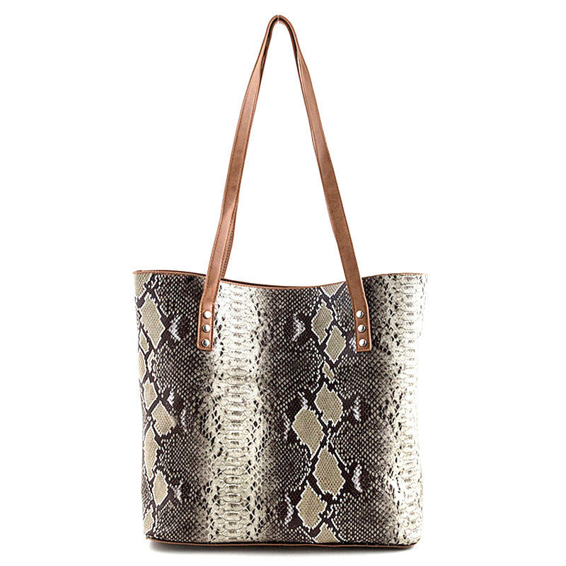 Wild Reversible Tote Bag - Jewelry Buzz Box  - 1