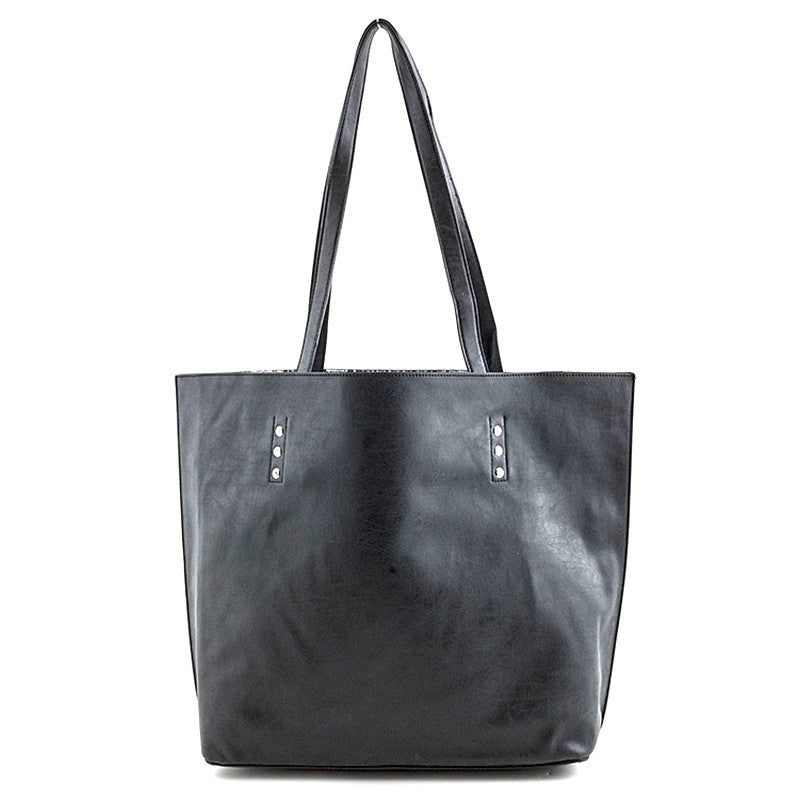 Wild Reversible Tote Bag - Jewelry Buzz Box  - 2