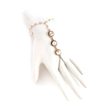 Graceful Crystal Finger Bracelet - Jewelry Buzz Box  - 1
