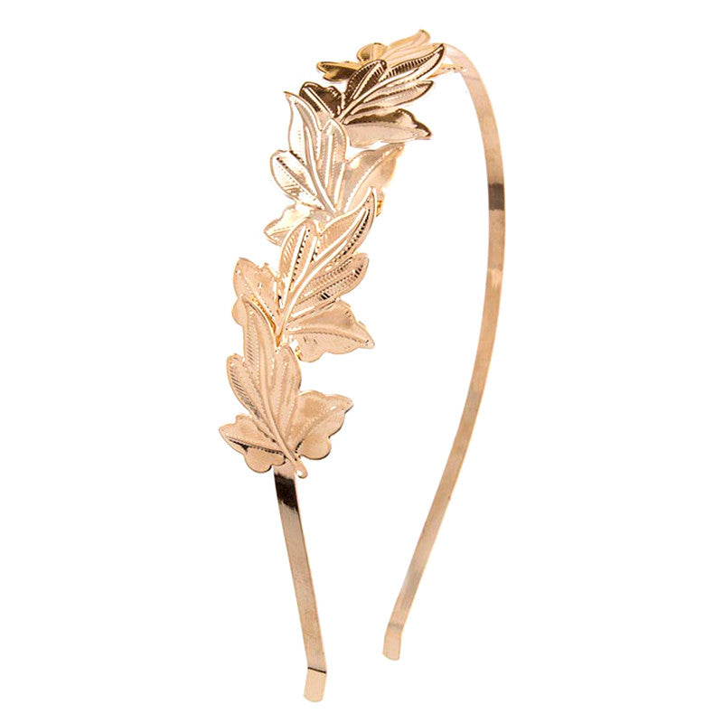 Lovely Leaves Headband - Jewelry Buzz Box