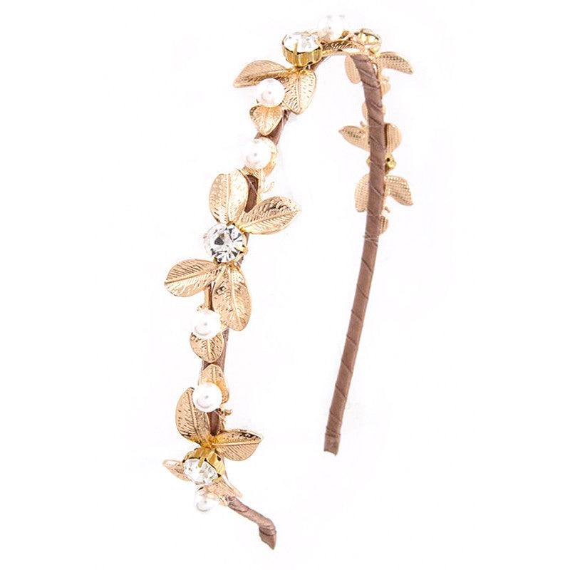 Glimmer Pearl Headband - Jewelry Buzz Box  - 1