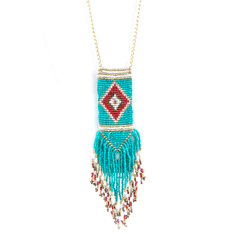 Pocahontas Necklace & Earring Set - Jewelry Buzz Box  - 1