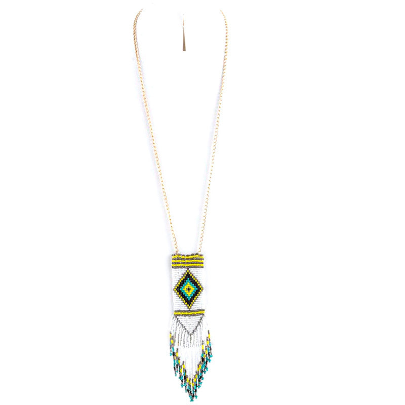Pocahontas Necklace & Earring Set - Jewelry Buzz Box  - 2