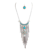 Tribal Drop Necklace Set - Jewelry Buzz Box