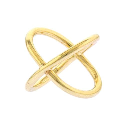 Crossover Ring - Jewelry Buzz Box  - 2