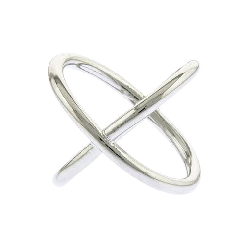 Crossover Ring - Jewelry Buzz Box  - 1