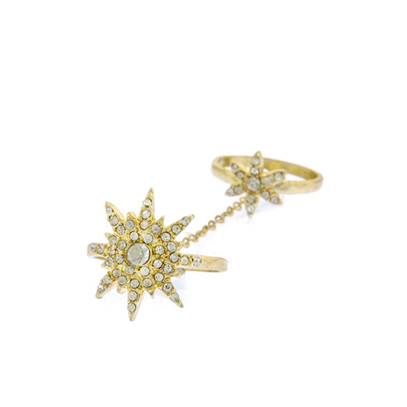 Star Full-finger Ring - Jewelry Buzz Box  - 2