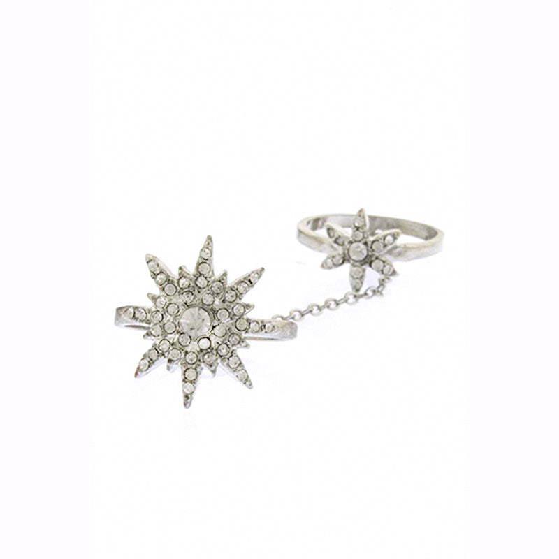 Star Full-finger Ring - Jewelry Buzz Box  - 1