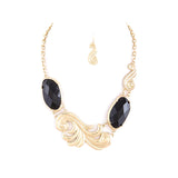 Swirl Necklace - Jewelry Buzz Box  - 1