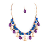 Fabulous Jewel Bib Necklace Set - Jewelry Buzz Box  - 2