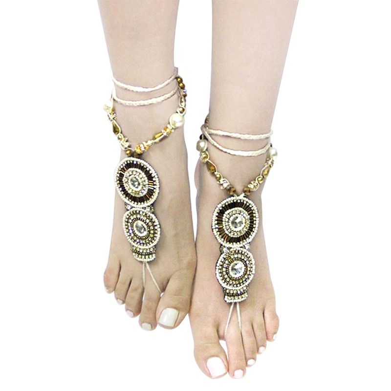 Bohemian Toe Anklet - Jewelry Buzz Box  - 3