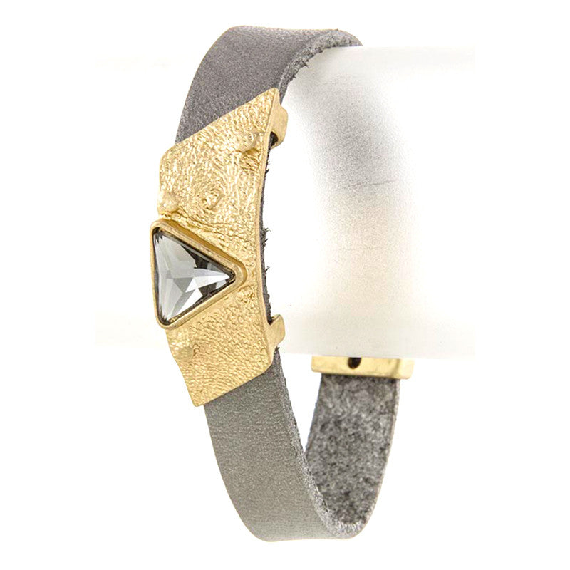 Triangle Wrap Bracelet - Jewelry Buzz Box  - 3