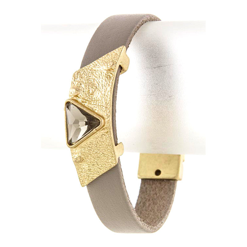 Triangle Wrap Bracelet - Jewelry Buzz Box  - 5