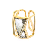 Tempt Triangle Ring - Jewelry Buzz Box  - 2