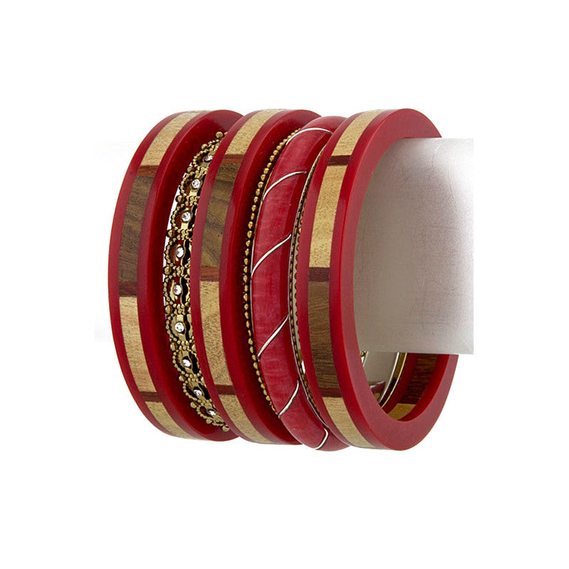 Indian Pop Bangles - Jewelry Buzz Box  - 5