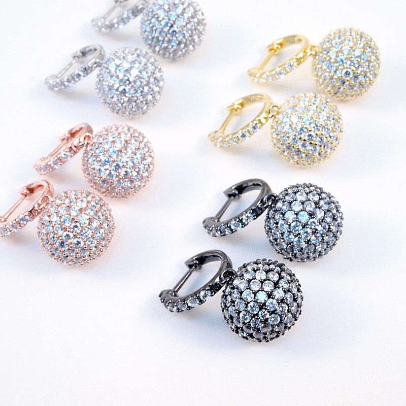 Ball Drop Earrings - Jewelry Buzz Box  - 3