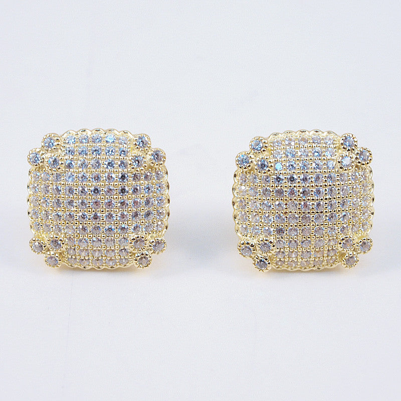 Sexy Square Studs - Jewelry Buzz Box  - 4