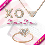 February Gold Dainty Box - Jewelry Buzz Box  - 1