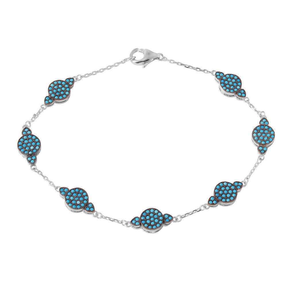 Twinkle Sterling Silver Link Bracelet - Jewelry Buzz Box