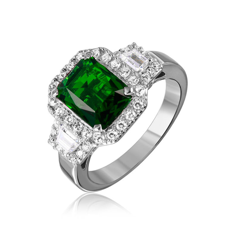 Emerald Cut Ring - Jewelry Buzz Box  - 1