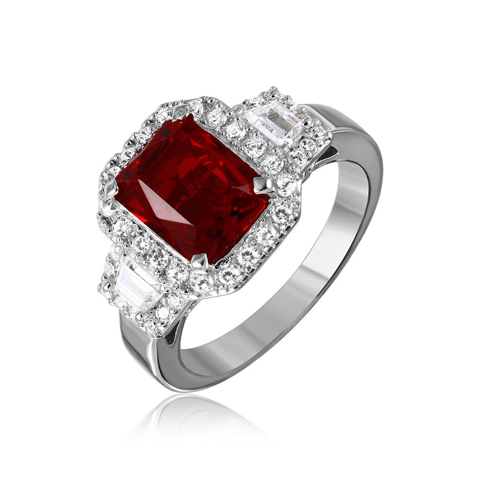 Emerald Cut Ring - Jewelry Buzz Box  - 2