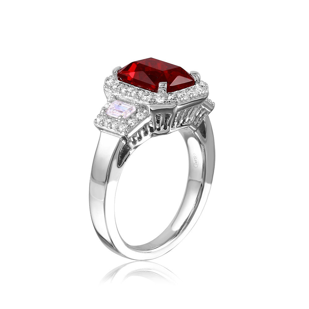 Emerald Cut Ring - Jewelry Buzz Box  - 3