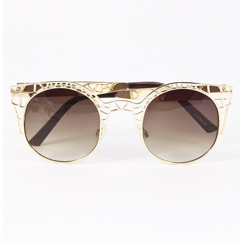 Cut Out Sunglasses - Jewelry Buzz Box  - 2