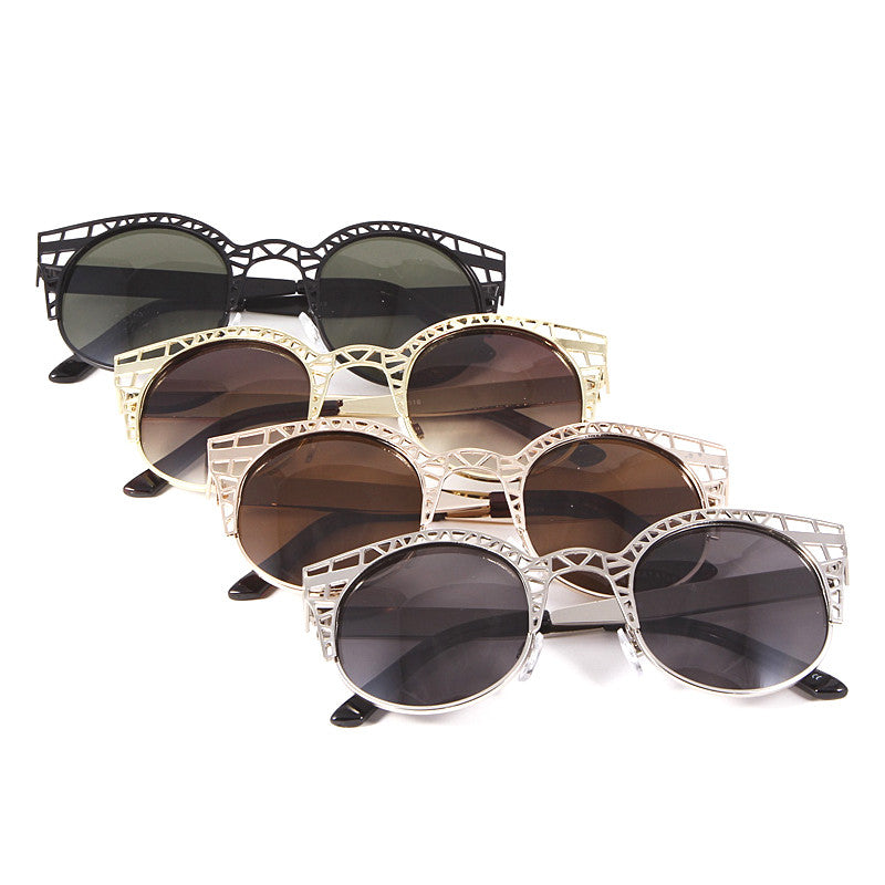 Cut Out Sunglasses - Jewelry Buzz Box  - 1