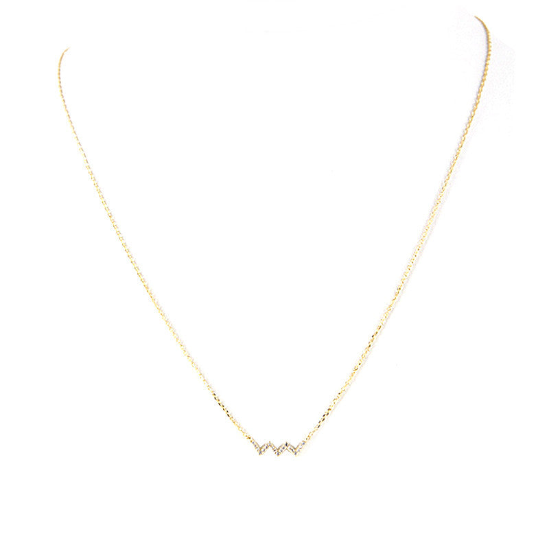 Chevy Sparkle Necklace - Jewelry Buzz Box  - 3