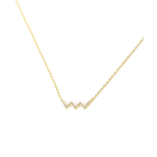 Chevy Sparkle Necklace - Jewelry Buzz Box  - 2