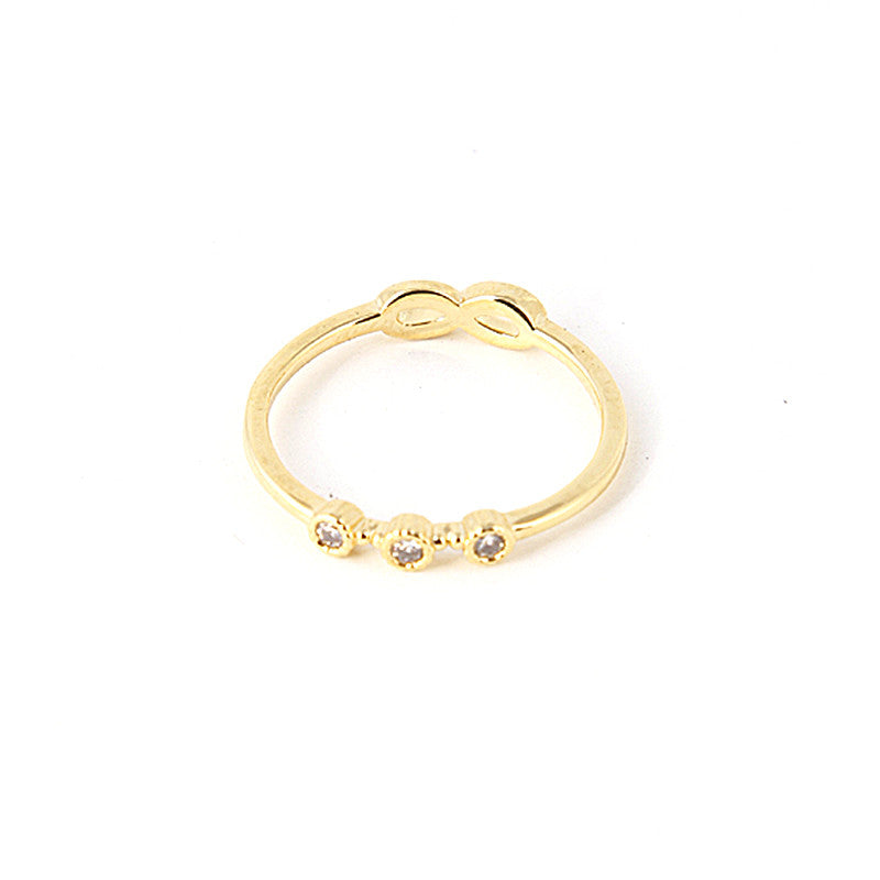 Double Side Infinity Mid-Ring - Jewelry Buzz Box  - 1