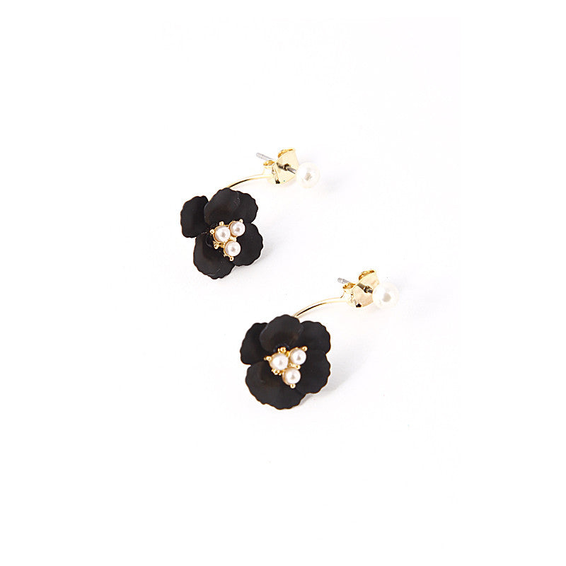 Glossy Flower Earrings - Jewelry Buzz Box  - 2