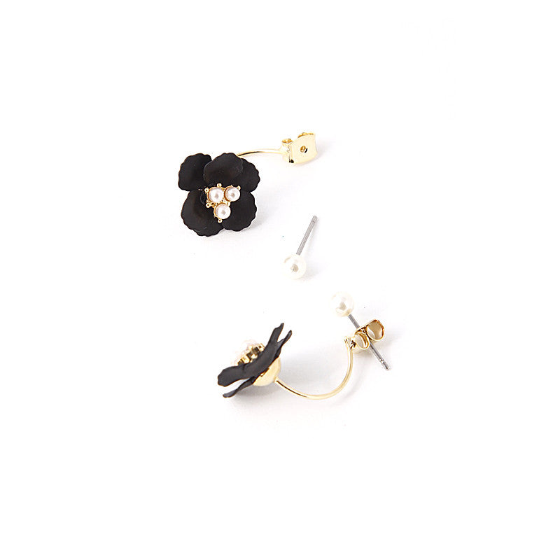 Glossy Flower Earrings - Jewelry Buzz Box  - 3