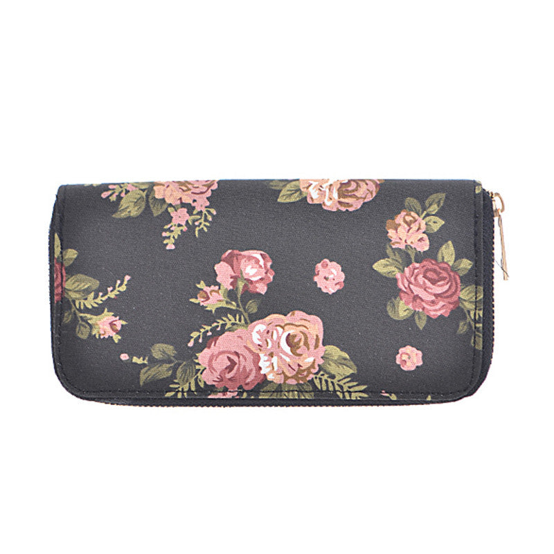 Rose Wallet - Jewelry Buzz Box  - 1