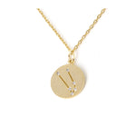 Zodiac Disk Necklace - Jewelry Buzz Box  - 11