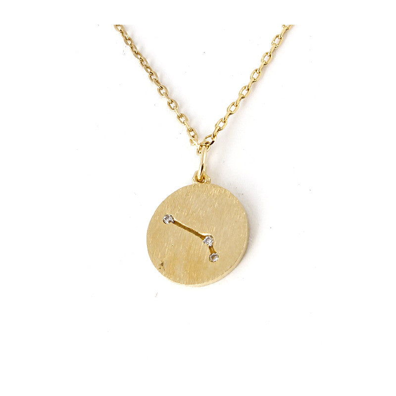 Zodiac Disk Necklace - Jewelry Buzz Box  - 12