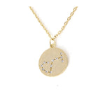 Zodiac Disk Necklace - Jewelry Buzz Box  - 13