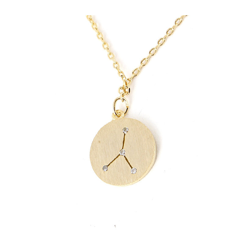 Zodiac Disk Necklace - Jewelry Buzz Box  - 4