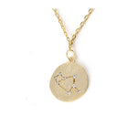 Zodiac Disk Necklace - Jewelry Buzz Box  - 6