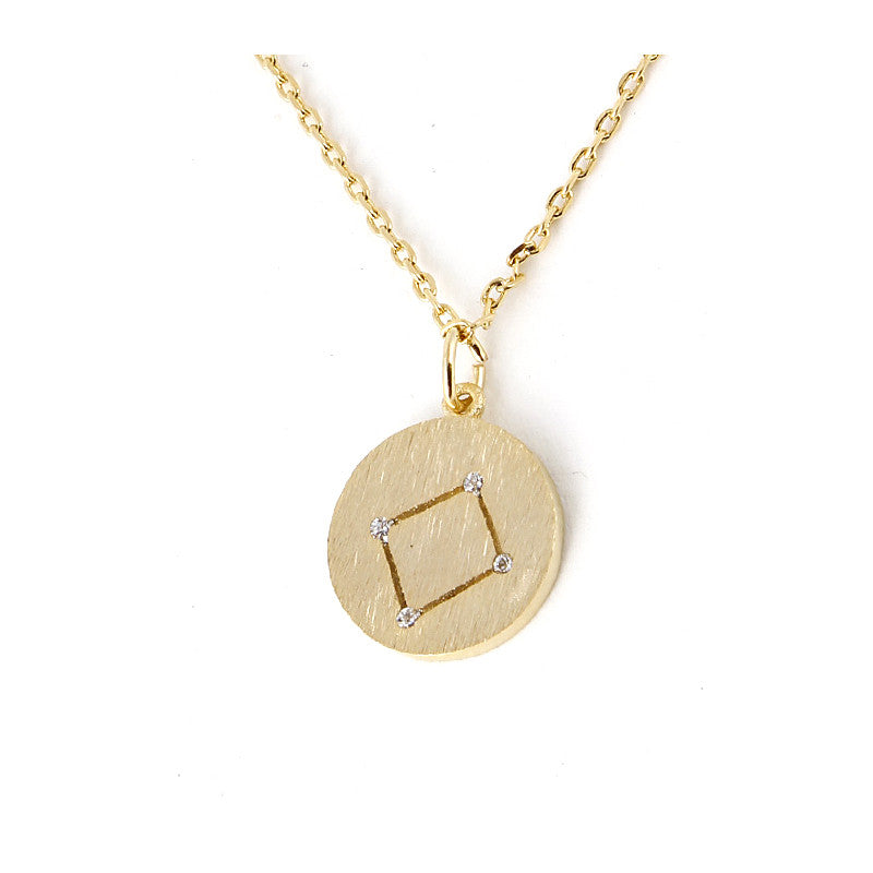 Zodiac Disk Necklace - Jewelry Buzz Box  - 7